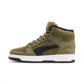 Puma Rebound Layup Fur SD Jr Burnt Olive