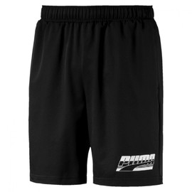 "Rebel Woven Shorts 8"" Puma Black"