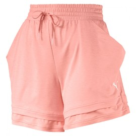 Soft Sports Drapey Shorts Peach Bud Heat