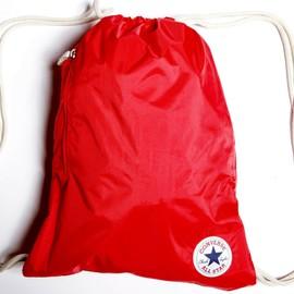 Tmavě červený pytlík Converse NYLON CINCH