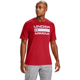 Ua team issue wordmark ss-red