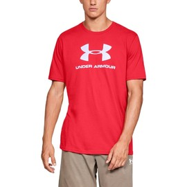 Under Armour SPORTSTYLE LOGO SS-RED