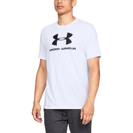 Under Armour SPORTSTYLE LOGO SS-WHT