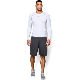 Under Armour UA HG ARMOUR LS-WHT