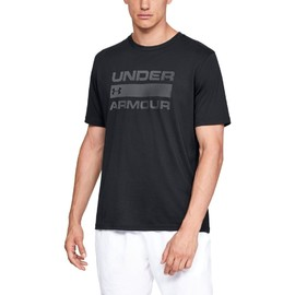 Ua team issue wordmark ss-blk