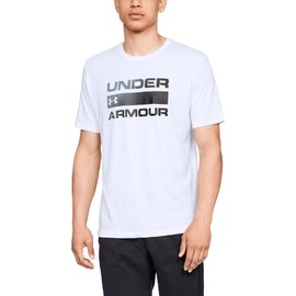 Ua team issue wordmark ss-wht