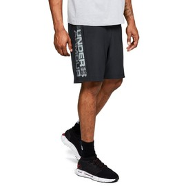 Woven Graphic Wordmark Short-BLK