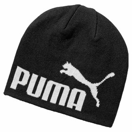 Unisex Čepice Puma ESS Big Cat Beanie Black-