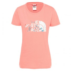 W ss easy tee spiced coral