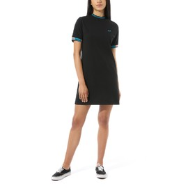 Wm hi roller tri check dress